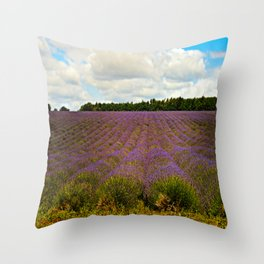 Cotswold Lavender Throw Pillow