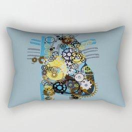 Cogs Of Your Heart Rectangular Pillow