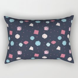 Dice rolling Rectangular Pillow