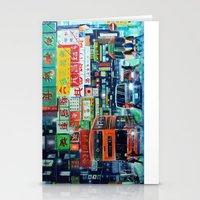 hong kong Stationery Cards featuring Hong Kong by Corrado Pizzi