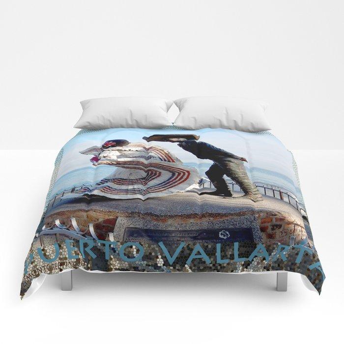 Puerto Vallarta, Mexico Sculpture by the Sea Comforters