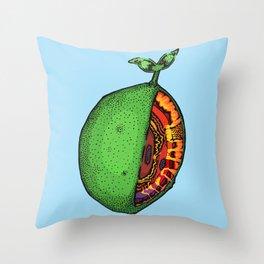 Pinfeather Skew Throw Pillow