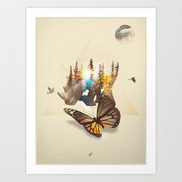 Kingdom1 Art Print