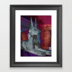Altered Egyptian Framed Art Print