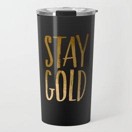 stay gold Travel Mug