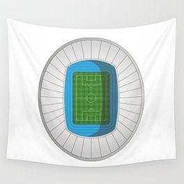 Football Stadium Wall Tapestry