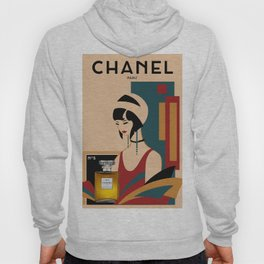 Art Deco Hoody