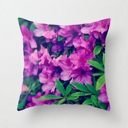 Violet Throw Pillow