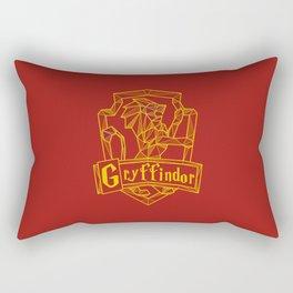 Gryffindor Inspired Crest Rectangular Pillow