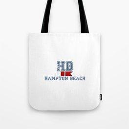 Hampton Beach NH. Tote Bag