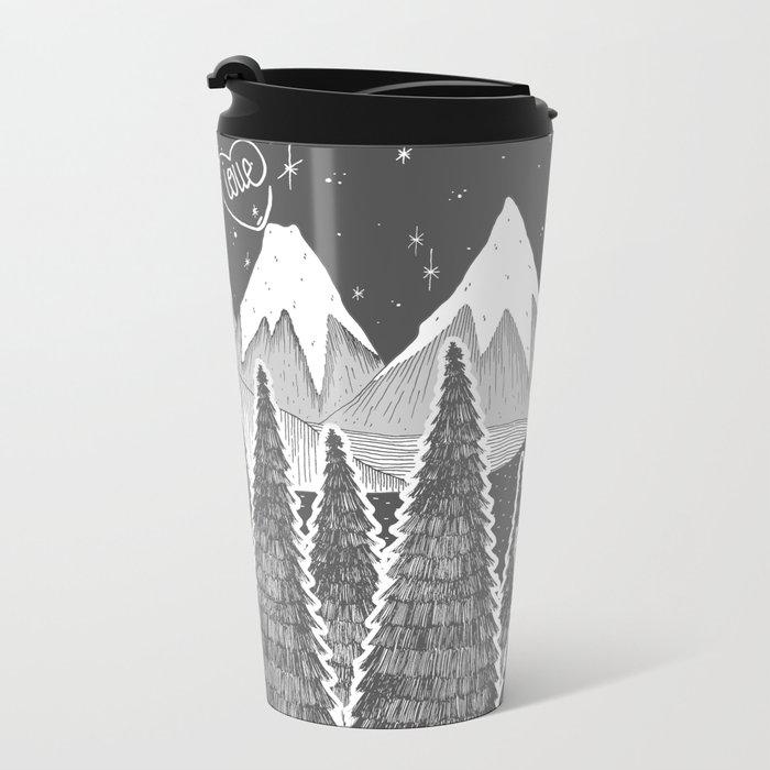 ☽ ZELINA ☾ Metal Travel Mug