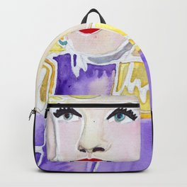 Diamonds are a Girl's Best Friend Backpack
