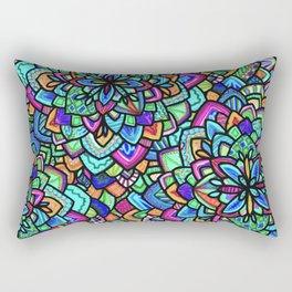 Foral Rectangular Pillow