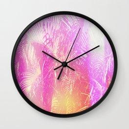 Shade & Palmtree 2 Wall Clock