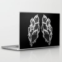 lungs Laptop & iPad Skins featuring Lungs by Sushibird