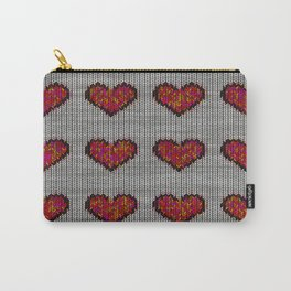 warm hearts Carry-All Pouch