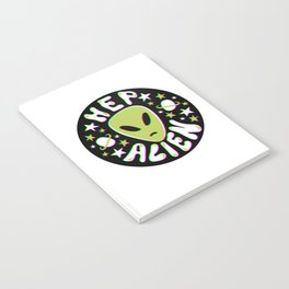 Hep Alien in 3D Notebook
