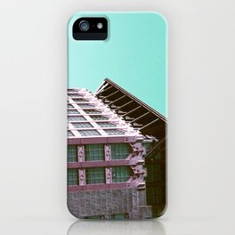 Building Side on Lomochrome Film iPhone Case