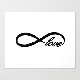 Eternity Love Canvas Print