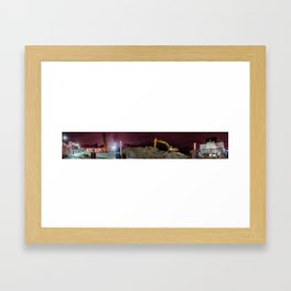 Site Framed Art Print