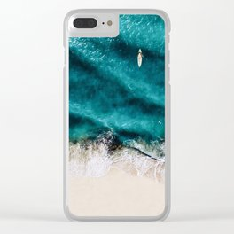 Sea 8 Clear iPhone Case