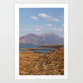 Loch Carron Art Print