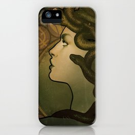 Medusa Nouveau iPhone Case