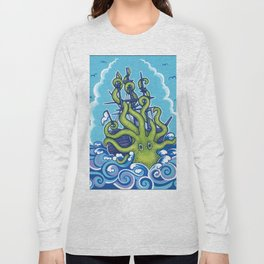 The Kraken Abides Long Sleeve T-shirt