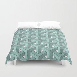 Goyard Cheveron Pattern Duvet Cover