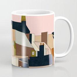 france brittany houses shape art Coffee Mug