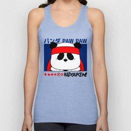 Panda (Hadouken) Unisex Tank Top