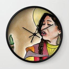 La India Maria Wall Clock