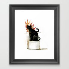 the forgetting game Framed Art Print