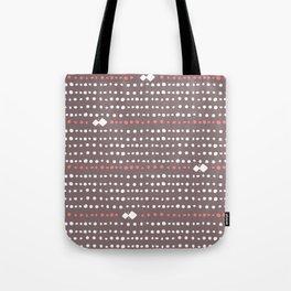 Desert Dots - Brown Tote Bag