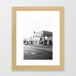 Depanne moi if you can Framed Art Print