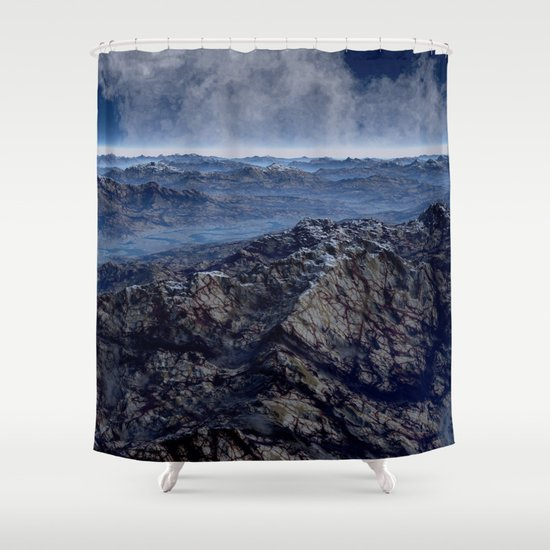 Welcome To Planet X Shower Curtain