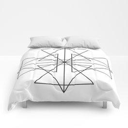 Triangle Love Comforters