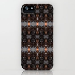 WoodenRock iPhone Case
