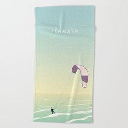 Kitesrfing Fehmarn Beach Towel