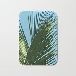 Palm Leaf Abstract Bath Mat