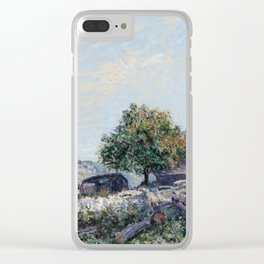 Alfred Sisley - Saint Mammes-Morning Clear iPhone Case
