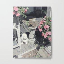 Soft Vintage Morning Metal Print