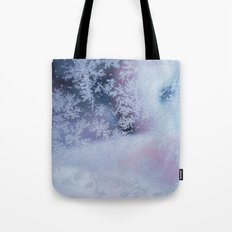Frozen whispers Tote Bag