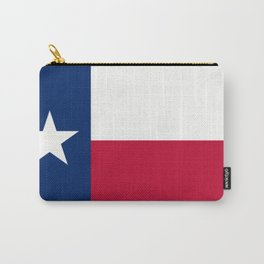 Lone Star ⭐ Texas State Flag Carry-All Pouch