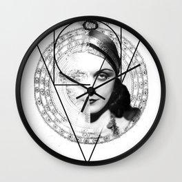 Homuncula: Pola Negri Wall Clock