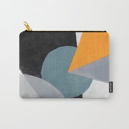 Orange triangle Carry-All Pouch
