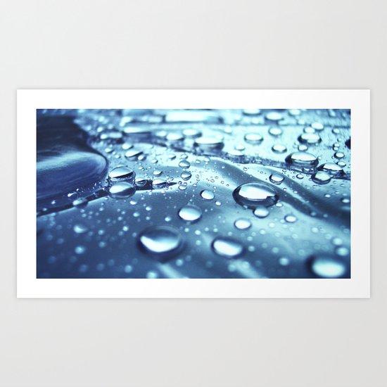 :: drops II :: Art Print