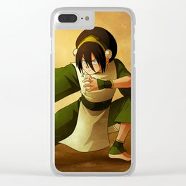 Toph Beifong Artwork Clear iPhone Case