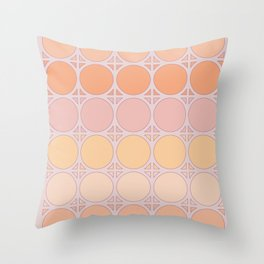 Lilac Connection Throw Pillow