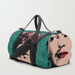 Floral Frida Duffle Bag